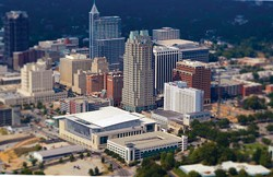 GRCVB/VISITRALEIGH.COM - A bird's-eye view of Raleigh