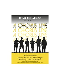 A Chorus Line coming to Pease in January