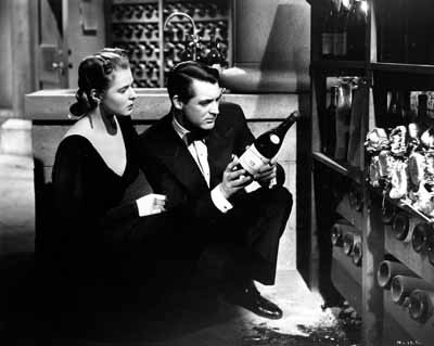 A FINE VINTAGE: Ingrid Bergman and Cary Grant star in Notorious, one of Alfred Hitchcock's greatest films.