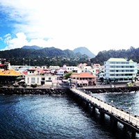 A heavy lesson learned at the Port of Roseau, Dominica