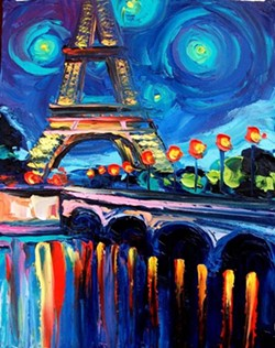 """A Night In Paris"""