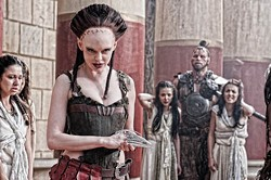 LIONSGATE - A ROSE BY ANY OTHER NAME: Rose McGowan in Conan the Barbarian