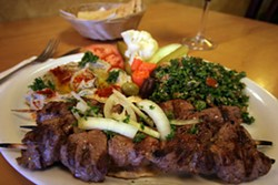 CATALINA KULCZAR - A STEAL AT $10: Lamb tenderloin kebabs
