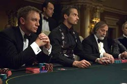 SONY - A TALE OF TWO CASINOS: Daniel Craig (left) stars in the 2006 Casino Royale ...