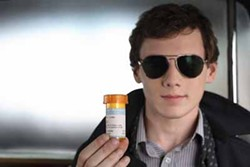 MGM - A VIEW TO A PILL: Charlie (Anton Yelchin) prescribes laughs in Charlie Bartlett.