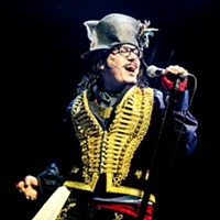 Adam Ant at McGlohon Theater tonight (8/12/13)