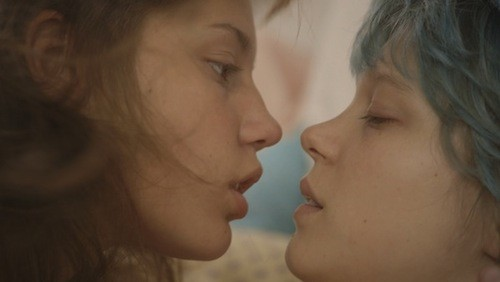 Adèle Exarchopoulos and Léa Seydoux in Blue Is the Warmest Color (Photo: Criterion)