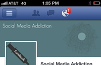 Addict alert: Step away from the Facebook
