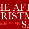 After-Christmas sales around town