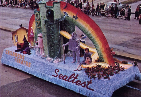 An award-winning float from 1967.