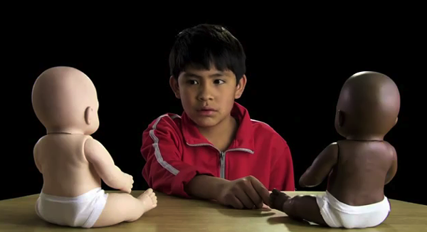 An image from the video Racismo en Mexico
