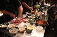 And the chefs competing in Iron Fork 2014 are ...
