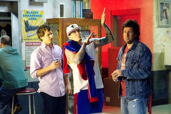 Andy Samberg, Vanilla Ice and Adam Sandler in That's My Boy (Photo: Columbia)