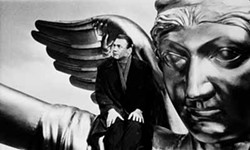 COURTESY OF THE CRITERION COLLECTION - ANGELS ON HIGH: Bruno Ganz in Wings of Desire