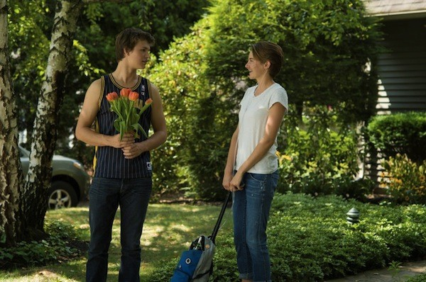 Ansel Elgort and Shailene Woodley in The Fault in Our Stars (Photo: Fox)