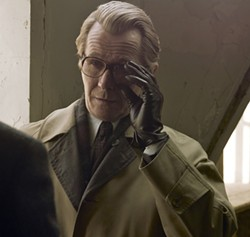 FOCUS FEATURES - AS SMILEY, ALL SMILES: Gary Oldman was pleased to receive a Best Actor Oscar nomination last week for his portrayal of George Smiley in Tinker Tailor Soldier Spy.