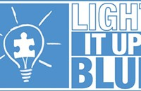 "Autism Speaks hosts the ""Light It Up Blue"" gala"