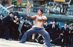 TANG CHAK SUN / SONY PICTURES CLASSICS - AXE AND YE SHALL RECEIVE An effeminate tailor (Ciu Chi - Ling) turns out to be a martial arts master in Kung Fu - Hustle