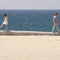 BALANCING ACT: Calvin (Paul Dano, right) tries to keep his fantasy woman (Zoe Kazan) in check in Ruby Sparks. (Photo: Fox Searchlight)