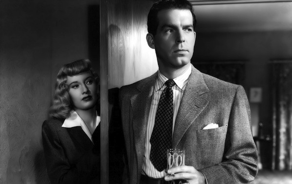 Barbara Stanwyck and Fred MacMurray in Double Indemnity (Photo: Universal)