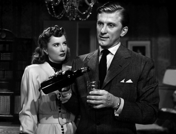 Barbara Stanwyck and Kirk Douglas in The Strange Love of Martha Ivers (Photo: Film Chest & Paramount)