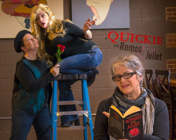 BARD IN THE BAR: NoDa Brewing Company serves as home to Chickspeare, one of the many theatrical groups to set up shop in the North Davidson district. - CHICKSPEARE