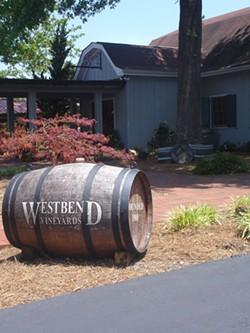 BARRELS OF FUN: Westbend Vinyeards - SHELTON VINEYARDS