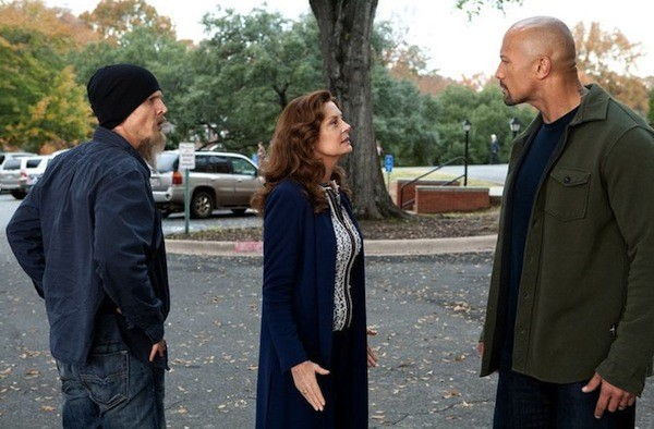 Barry Pepper, Susan Sarandon and Dwayne Johnson in Snitch (Photo: Summit)