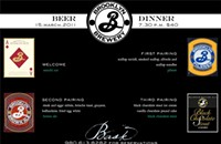 March 15: Beer dinner at Bask