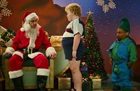 Battle of the mall Santas
