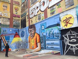 ERIN TRACY-BLACKWOOD - Before 5 Pointz was painted over