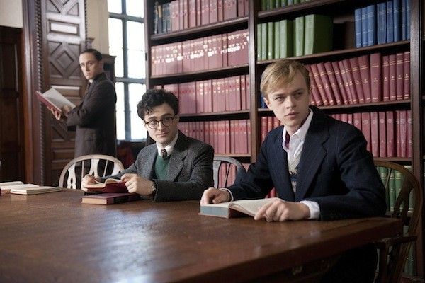 Ben Foster (background), Daniel Radcliffe and Dane DeHaan in Kill Your Darlings. (Photo: Sony Pictures Classics)