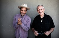 Ben Harper & Charlie Musselwhite bring the blues to the Fillmore tonight (9/15/2013)