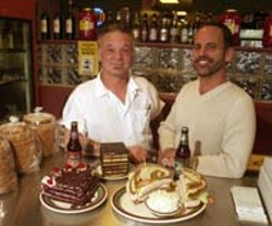"RADOK - Benny Erlich and Ken Lipack of Benny's ""Real"" New York Deli"