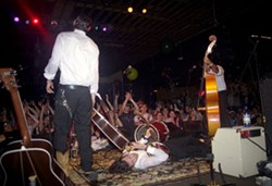 DANIEL COSTON - BEST CONCERT OF PAST 12 MONTHS: Avett Brothers New Years Eve Gig