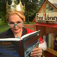 Best Library: Little Free Library (Pictured: Midwood Park)