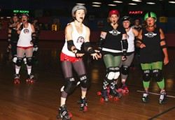 JASIATIC - BEST LOCAL ATHLETE: Charlotte Roller Girls