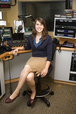 PHOTO BY ANGUS LAMOND - BEST RADIO PERSONALITY: Lisa Miller, WFAE