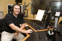 ANGUS LAMOND - BEST RADIO PERSONALITY: Scott Graf, WFAE