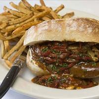 BEST SANDWICH Lamb sandwich at Lulu