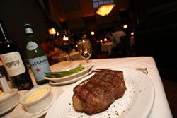 PHOTO BY CATALINA KULCZAR-MARIN - BEST STEAK HOUSE: Ruths Chris Steak House