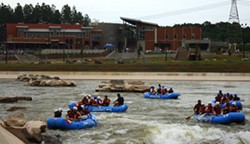 PHOTO BY KATIE WILLIAMS - BEST THING TO SHOW OFF TO OUT-OF-TOWN GUESTS: Whitewater Rafting Center
