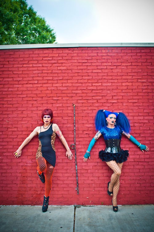 BethAnn Phetamine (left) and Lilith DeVille (Photo by Josh Cannon)