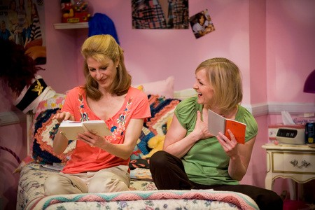 Bethel Caram and Diana Dresser star in Girls Only - The Secret Comedy for Women.