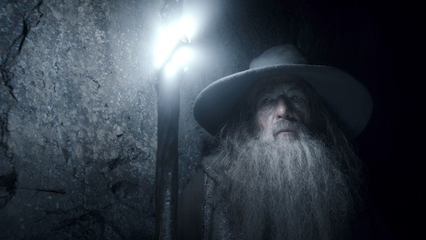 BETTER TO LIGHT A SHAFT THAN CURSE THE DARKNESS: Gandalf (Ian McKellen) gains some clarity in The Hobbit: The Desolation of Smaug. (Photos: Warner Bros.)