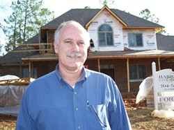 KAREN SHUGART - Bill Harrington became interested in green building after talking to his son, an architect.