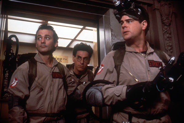 Bill Murray, Harold Ramis and Dan Aykroyd in Ghostbusters - SONY
