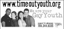 Billboard for Time Out Youth