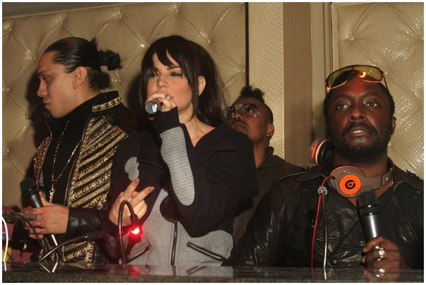 black eyed peas private concert