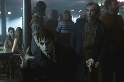 WARNER BROS. - BLOODLESS: Johnny Depp and Jackie Earle Haley in Dark Shadows